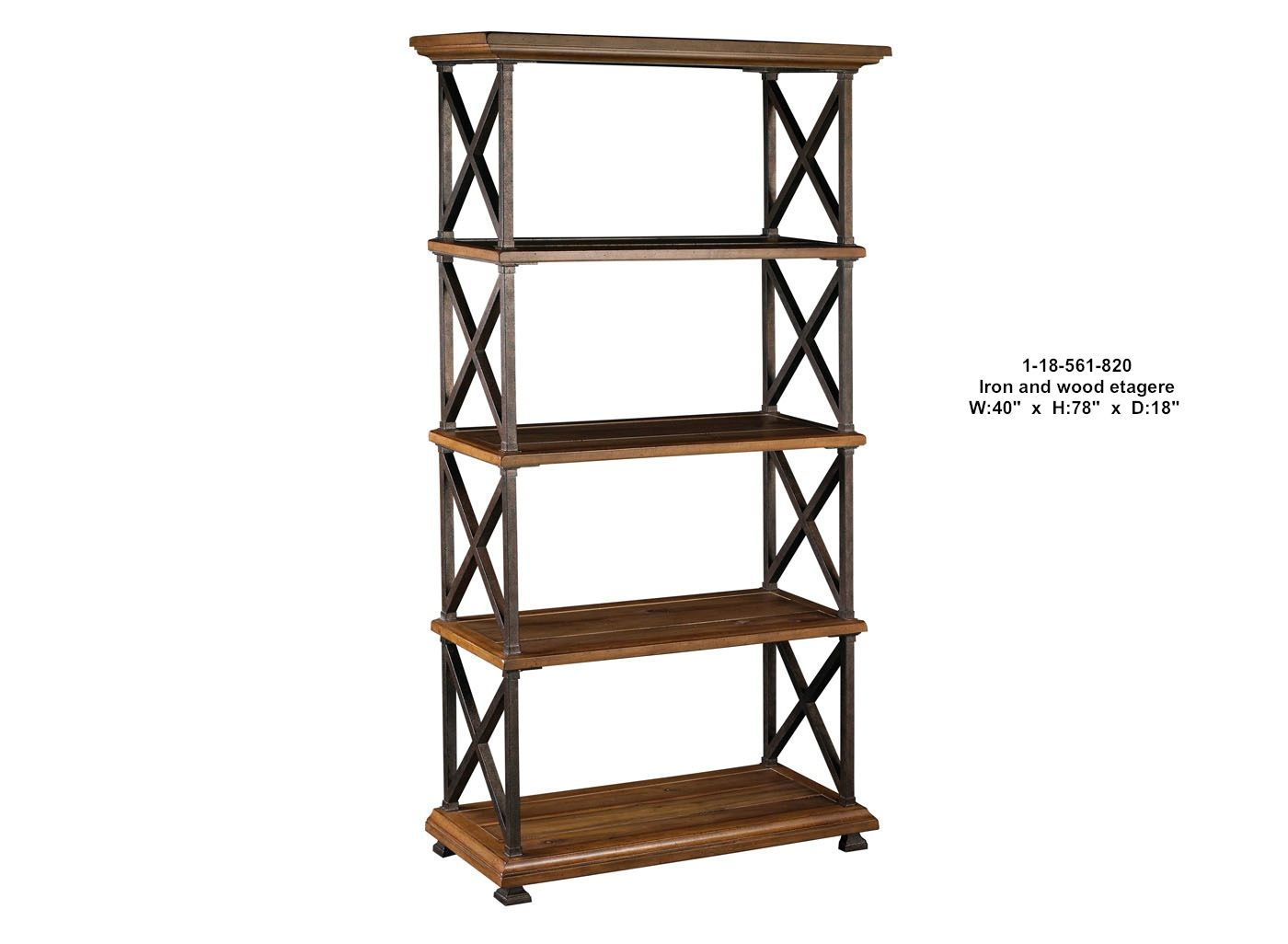 wood and metal etagere spray paint sides of solid wood. Black Bedroom Furniture Sets. Home Design Ideas
