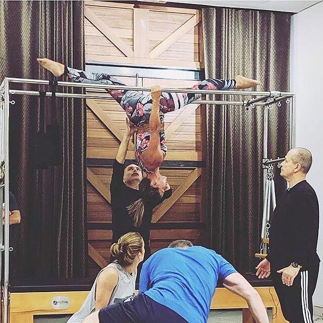 Pilates Cadillac Trapeze Table #pilatescourses