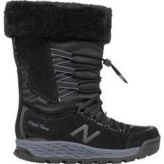 Women's+New+Balance+Fresh+Foam+1000v1+Winter+Boot+-+White/Lead+with+FREE+Shipping+&+Exchanges.+Your+feet+will+stay+warm+and+dry+in+the+1000v1+Winter+Boot+from+New+