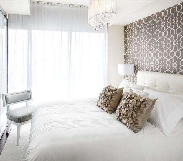Bedroom Wallpaper Designs Impressive Wallpaper A Small Space For Maximum Impact  Wallpaper Small Inspiration