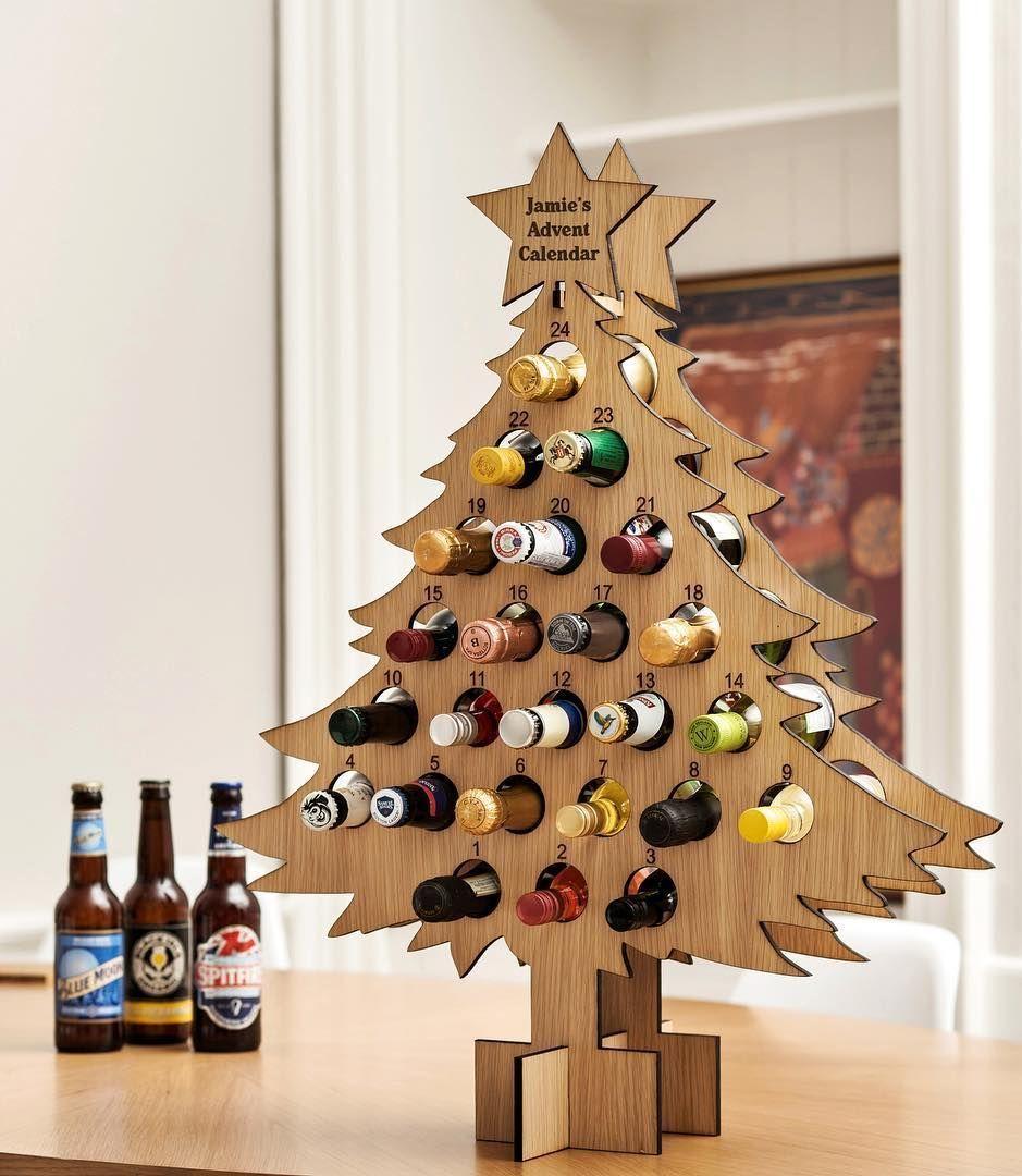 Magical And Creative Diy Advent Calendar Ideas You Ll Love Christmas Tree Advent Calendar Diy Advent Calendar Wine Advent Calendar
