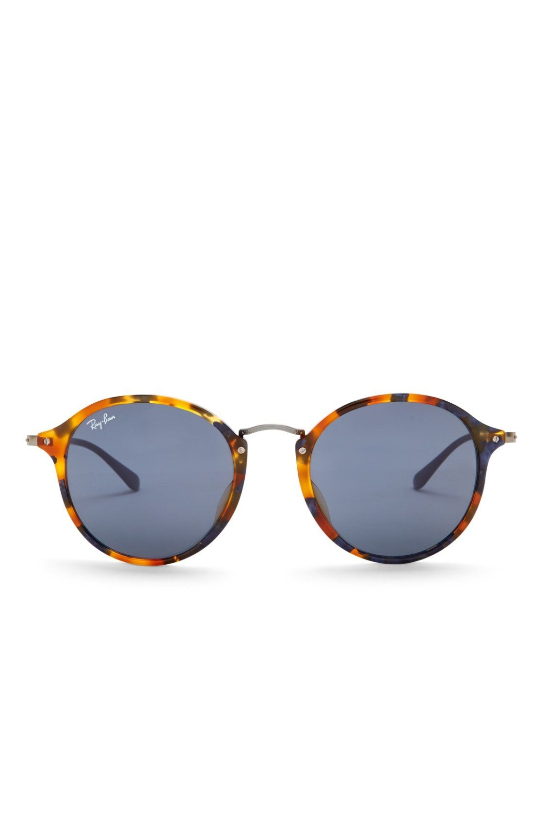 c165d19f22eaf Obsessed with these Ray-Ban Women s Fleck Round Sunglasses Ray Ban Pour  Femmes