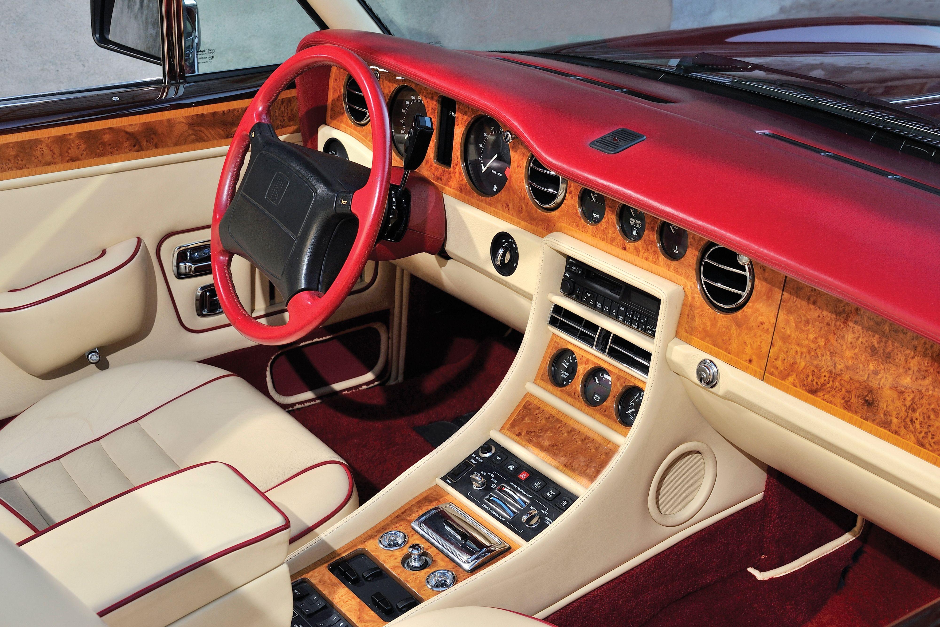 1992–96 Front panel Rolls-Royce Corniche IV Worldwide | Automobiles ...