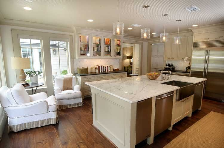 Kitchen Seating Area Like Corner Conversation Area And