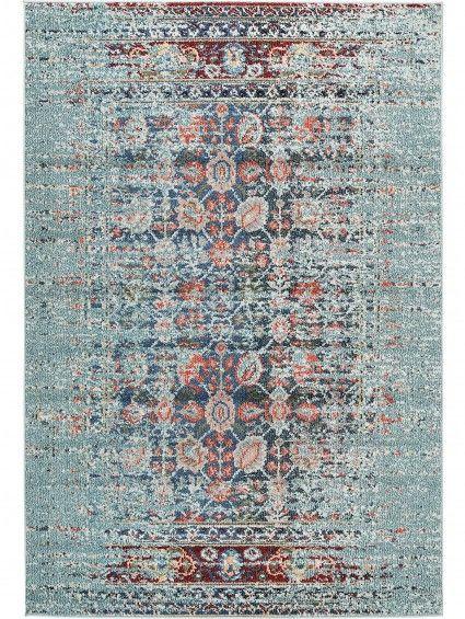 Teppich Casa T Esszimmer Pinterest Teppiche, Türkis und - wohnzimmer orange beige