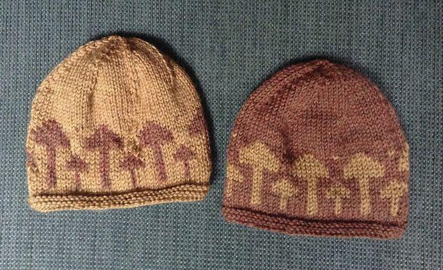 Ravelry Mushroom Colorwork Hat Pattern By Jill Soha Hat Pattern Hat Knitting Patterns Baby Hat Knitting Pattern