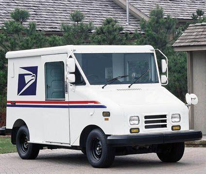 Grumman Llv Us Mail Truck Vintage Post Office Pinterest