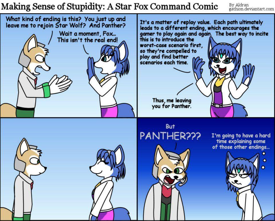 Star fox furry facial