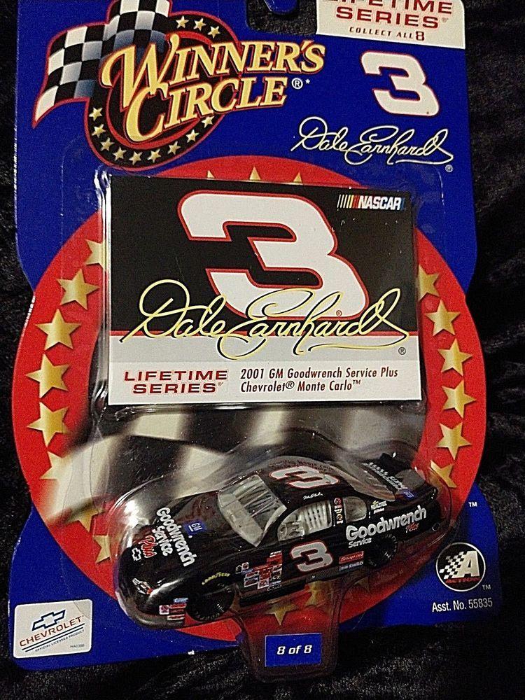 2001 NASCAR Winner's Circle . . . Dale Earnhardt 3 GM