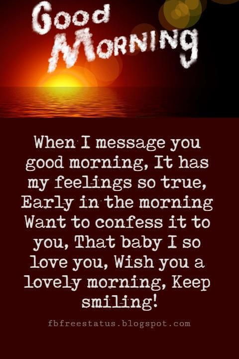 Sweet Good Morning Messages To Send Someone You Love Morning