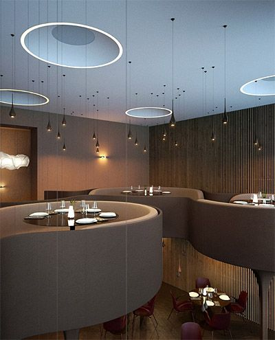New whimsical restaurant design in ukraine commercial - Commercial interior design codes ...