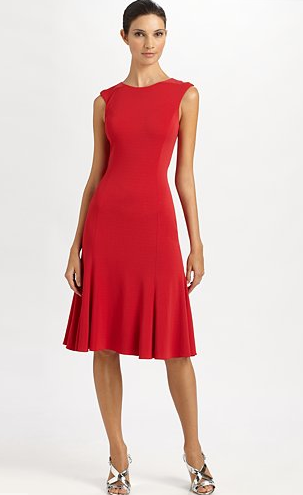 Ralph Lauren Collection Lady In Red Dress Codes Skirt Label