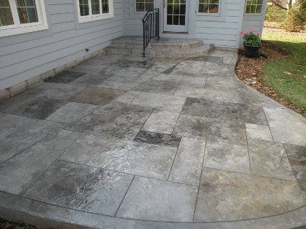Decorative Concrete Patios: Your Outdoor Living Space