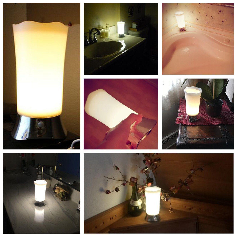 Zeefo Table Lamps Indoor Motion Sensor Led Night Light Portable