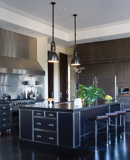 Cool Art Deco Kitchen Cabinets: Photo Gallery: Dramatic Tiled Interiors