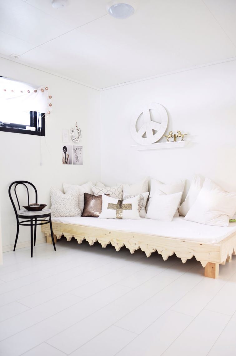 Diy Daybed Moroccan Style Wood Nordic