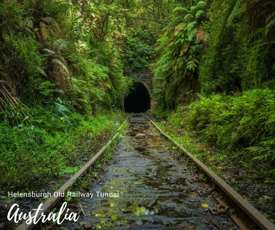 Helensburgh Old Railway Tunnel, Deserted Over 100 Years