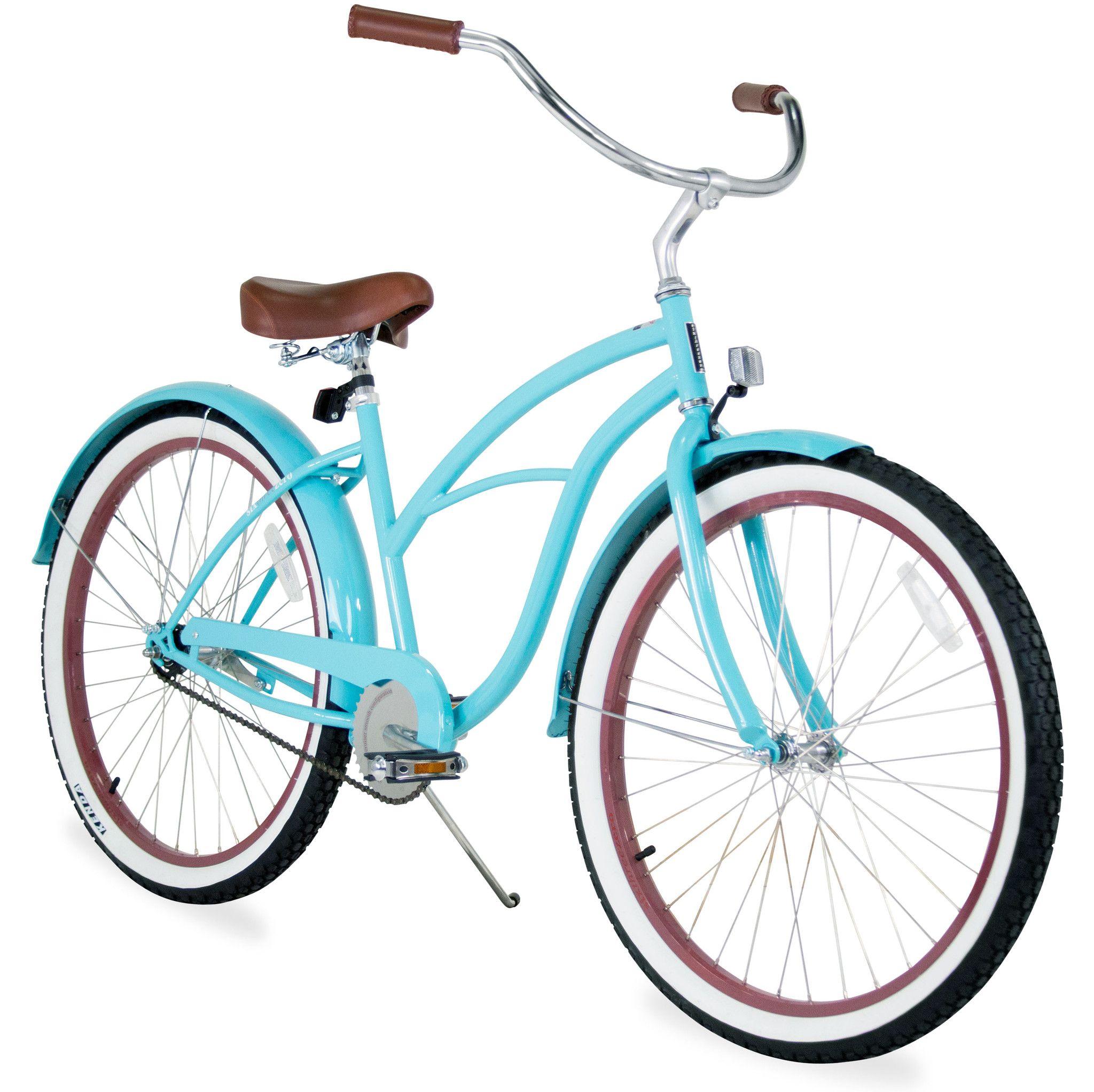 Sixthreezero Teal Single Speed Women S Beach Cruiser Bike Beach Cruiser Bicycle Cruiser Bicycle Beach Cruiser Bike