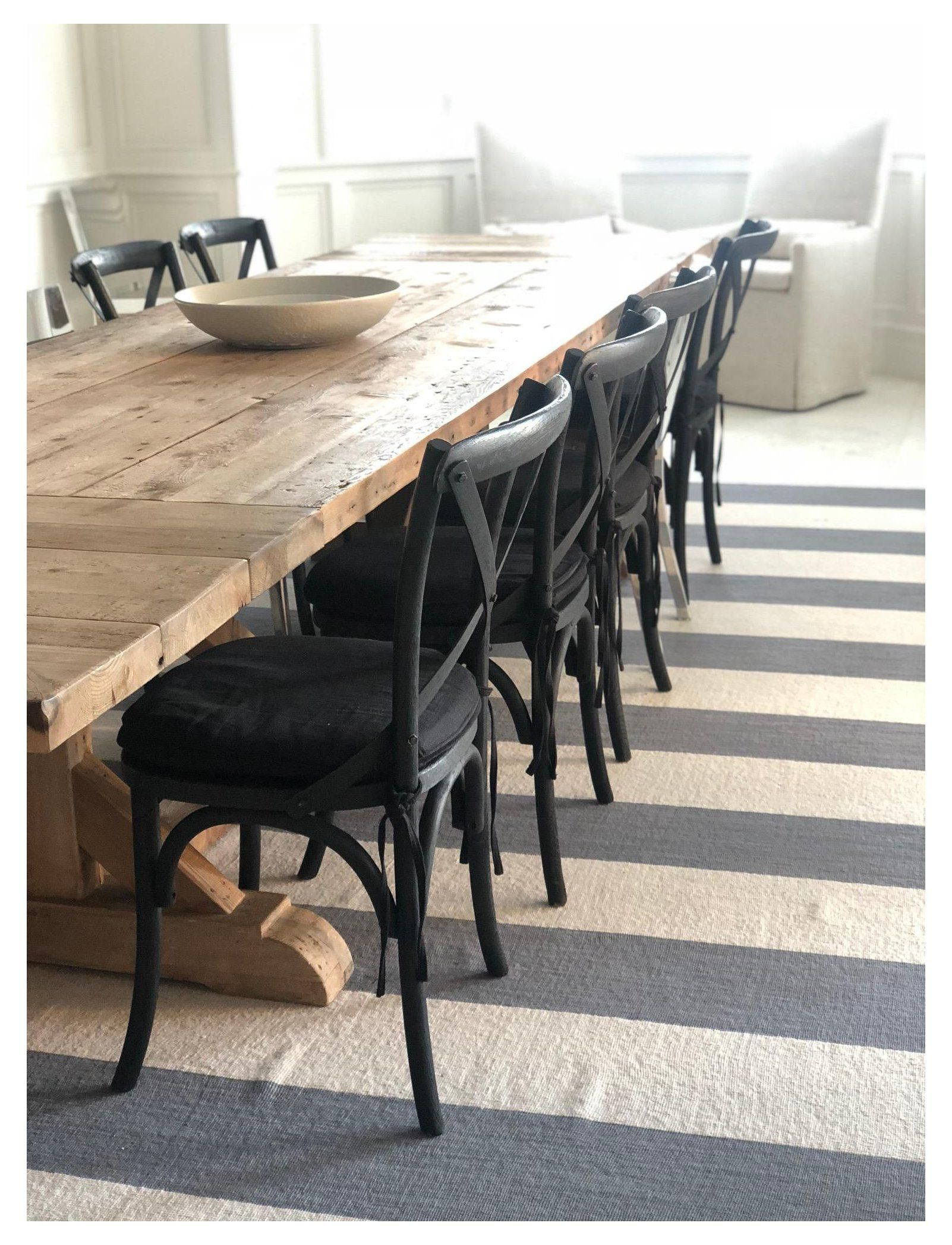 Rh Madeline X Back Black Wood Dining Chair Set Of 8 Black Dining Chair Set Blackdiningchairset Set In 2021 Wood Dining Chairs Black Dining Chairs Dining Chairs