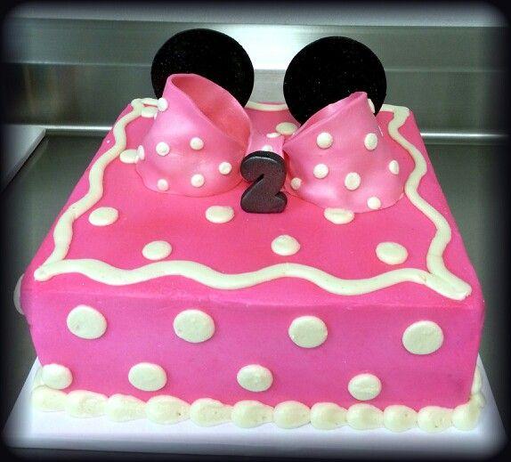 Minnie Mouse Cake Cake En 2019 Pastel De Minnie Mouse
