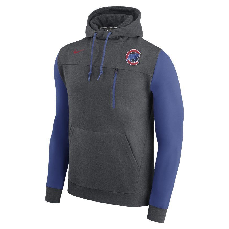 Nike Fleece Pullover (MLB Rangers) Men's Hoodies Royal