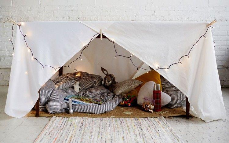 Höhle bauen für Kinder und Erwachsene - DIY Projekte mit Decken und ...
