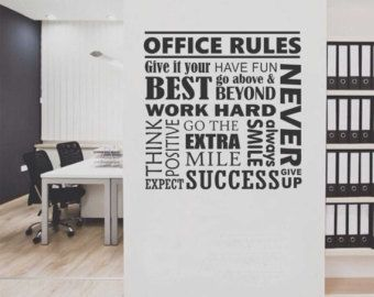 Creative Office Space · Vision Eye Decal Vinyl Wall ...