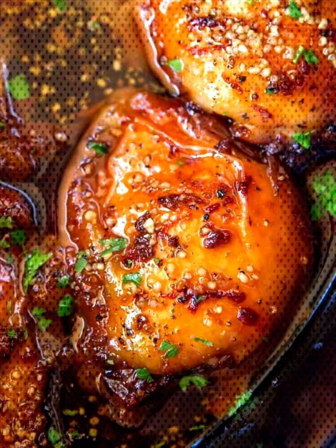 Slow Cooker Brown Sugar Garlic Chicken mit nur fünf Zutaten, Sie können es morgens in nur wenigen