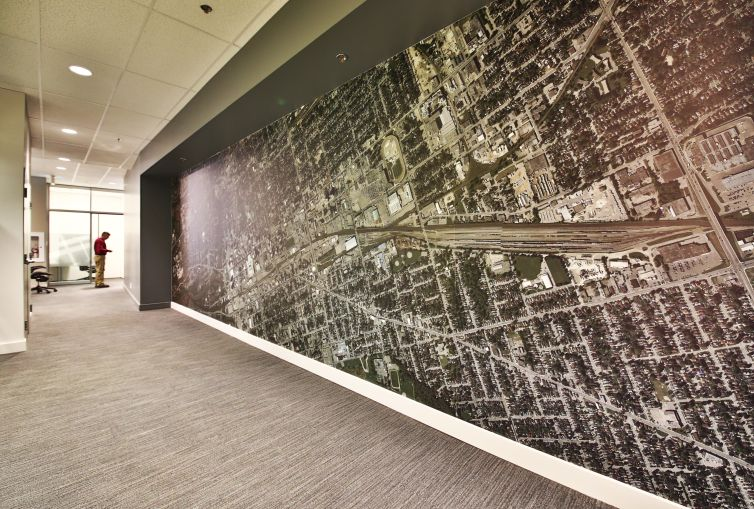 CBRE Ontario uses CanvasTac to Makeover Office - Surface Protection Tape,  Surface Protection Film and Pressure Sensitive Tape manu… | Makeover, Wall  murals, Ontario