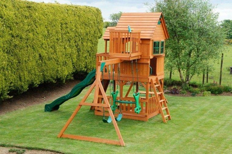Parques infantiles en el jardín para un verano divertido | Parque ...