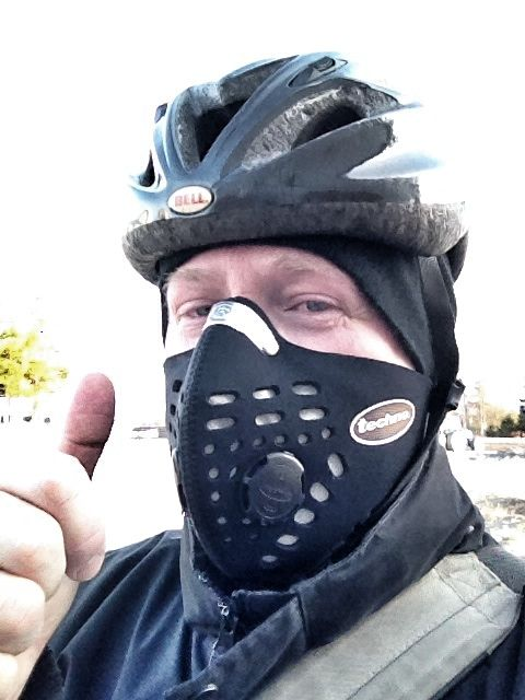 Thank you so much for making this fantastic  mask! It arrived safely last week, and I have  been using it since, 9 kilometers to and from  work each day by a heavy polluted route in Umeå, Sweden. #myrespromask