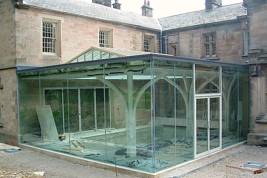 structural frameless glass frameless glass extensions. Black Bedroom Furniture Sets. Home Design Ideas
