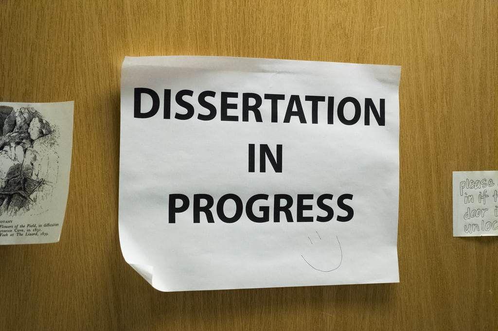 City university dissertation