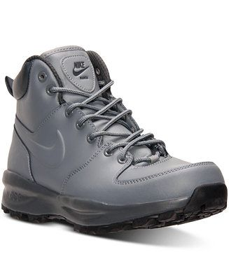 f86a5faf0 Nike Men s Manoa Leather Boots from Finish Line - Finish Line Athletic Shoes  - Men - Macy s