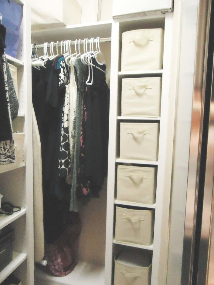 Furniture Small Walk In Organizer Ideas With Hanger And