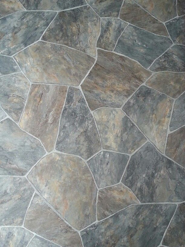 My Faux Paver Stone Floor