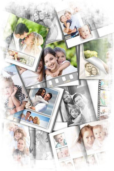 Free Wedding photo album png psd templates for decoration wedding photo -  Free download