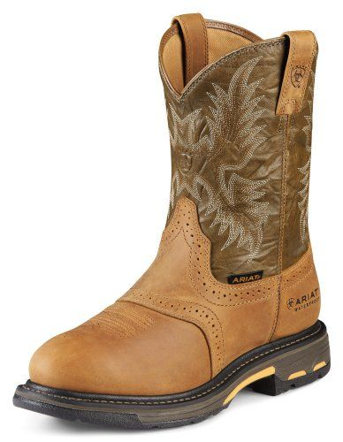 cb514d62e97 Ariat Men's Workhog Pull-On Waterproo… | Work & Safety | Composite ...
