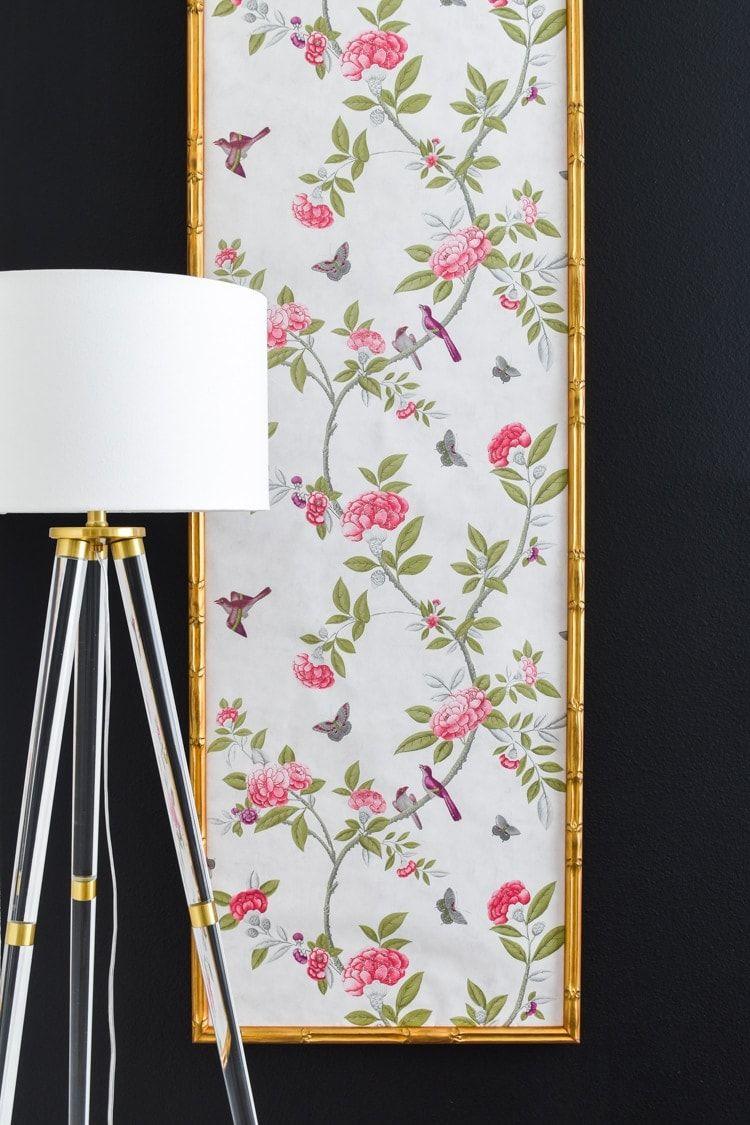 Diy Chinoiserie Wallpaper Panels Chinoiserie Wallpaper
