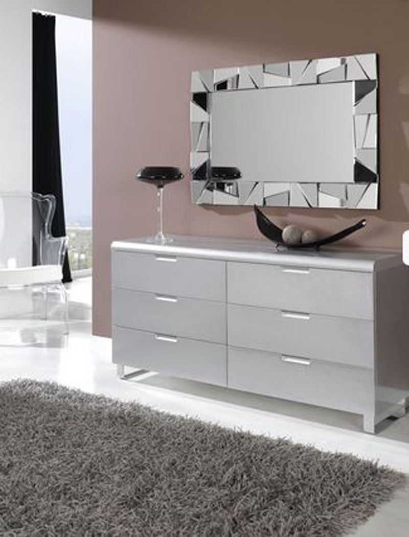 Espejos cristal hasta 250 espejo atalaya espejos para for Espejos decorativos modernos