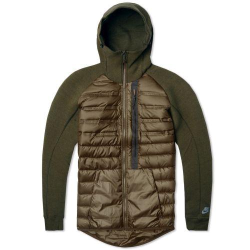 97bd03176c NIKE TECH FLEECE AEROLOFT JACKET | Men's Jackets | Nike tech fleece ...
