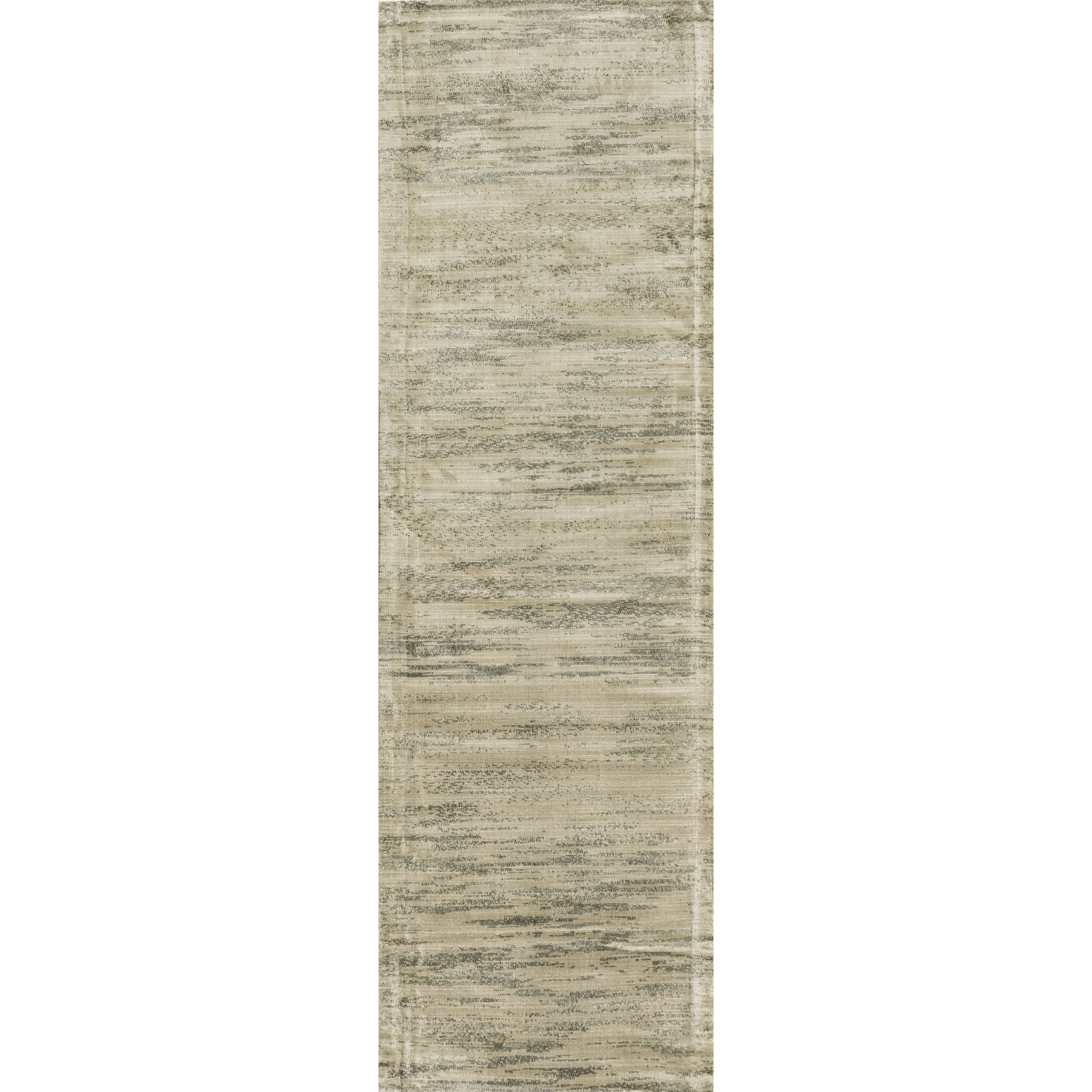 "Alexander Home Francis Seafoam Runner Rug (2'4 x 7'9) (Seafoam Runner (2'4 x 7'9)), Green, Size 2'4"" x 7'9"" (Viscose, Abstract)"