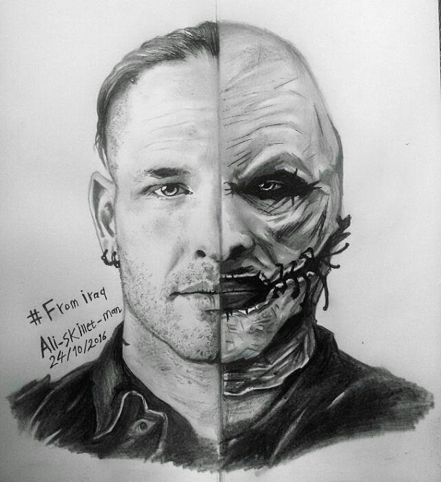 Amazing Drawing Coreytaylor Cmft 8 Slipknot