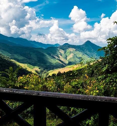 Mountainous Landscape Thailand