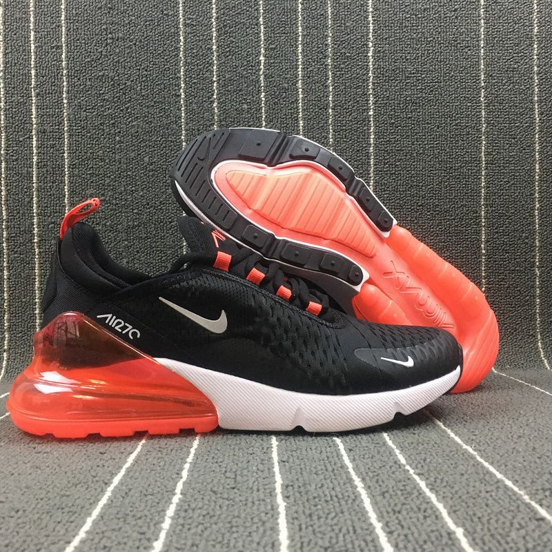 the best attitude 2f4ef a68df Adaptable Nike Air Max 270 Retro Black   White-Red Men s Casual shoes  Sneaker AH8050-016