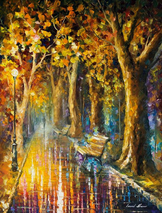 Deep Wisdom — PALETTE KNIFE Oil Painting On Canvas by AfremovArtStudio, $339.00