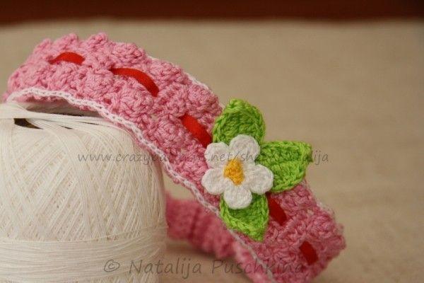 Gehäkeltes Haarband für Babys und Kinder | Crochet | Pinterest ...