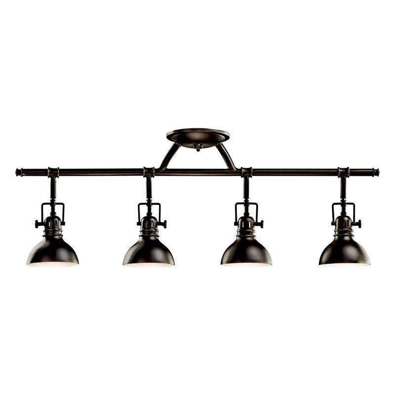 Kichler 7704 rail light 5 5 in 272 8 · track lighting fixturesceiling light fixturesflush mount