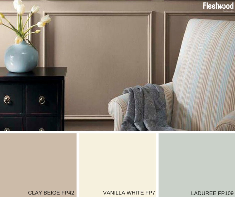 A Subtle Pastel Colour Scheme From Fleetwood Paints