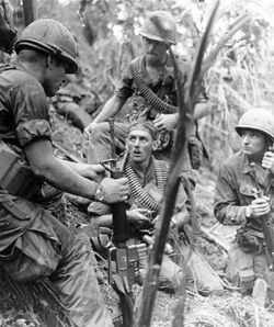 1969 Us Soldiers Hamburger Hill Vietnam Vietnam War Vietnam